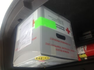 'Big Box of Blood' Found in Middle of Madison, Wisconsin, Road