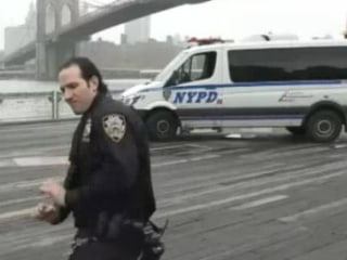 Watch NYPD Officers Bust a Move in #RunningManChallenge