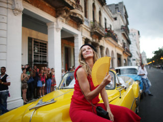 Fashionistas Invade Cuba for Chanel's Latest Collection