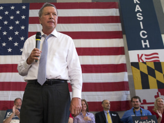 Kasich Shoots Down Potential Third-Party Run