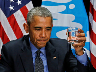 Obama in Michigan: 'Turn This Into An Opportunity to Rebuild Flint'