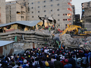 Nairobi Building Collapse: Woman Pulled From Rubble After 6 Days