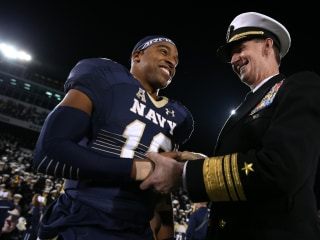 Ravens' Draftee Keenan Reynolds is a Perfect Ambassador for Navy