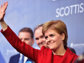 Scottish National Party Wins 'Historic' Third Term