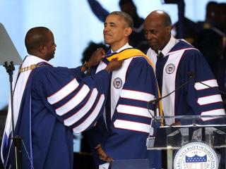 Obama Urges Howard University Graduates to Get Politically Engaged
