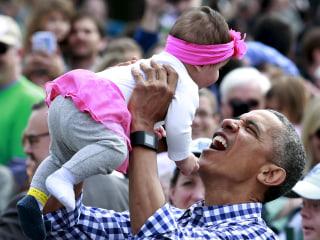 Obama Makes Mother's Day Plea to Address 'Diaper Gap'