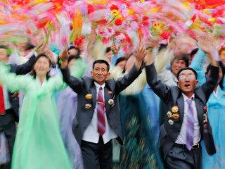 North Korea Concludes Rare Congress with Massive Parade