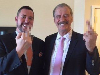 Former Mexico Pres. Vicente Fox Drops 'F' Bomb About Trump Wall — Again