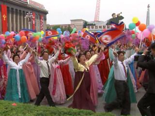 North Korea's Big Parade: A Sideline View