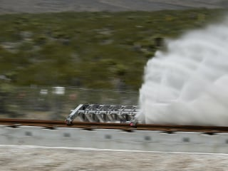 Hyperloop One Tests Futuristic Tech in First-Ever Demo