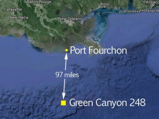 Tens of Thousands of Gallons of Crude Oil Spill Into Gulf of Mexico