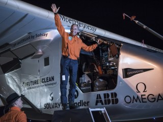 'Solar Impulse 2' Completes Arizona-to-Oklahoma Leg