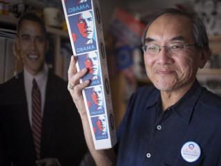 Collector of Obama Political Memorabilia Is Bullish on Barack