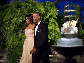 Obama Toasts Nordic Nations at Star-Studded State Dinner