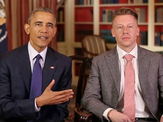 Macklemore Helps Obama Raise Awareness About Opioid Abuse