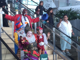 TSA Lines Causing Frowns? Send in the Clowns! (and Tiny Horses)