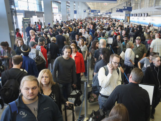 Missed Flights, Long Lines at Chicago Airport Highlight TSA Problems