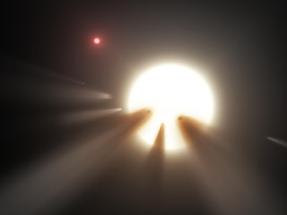 Alien Megastructure? Dimming Star May Have Less Exotic Explanation
