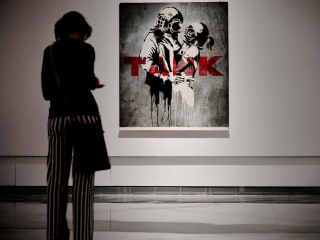 Take a Tour of the Largest Ever Banksy Exhibition