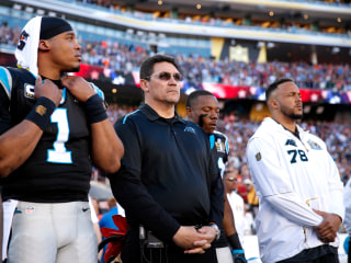 Ron Rivera on Cam Newton: I'm Just Challenging Him to be Better