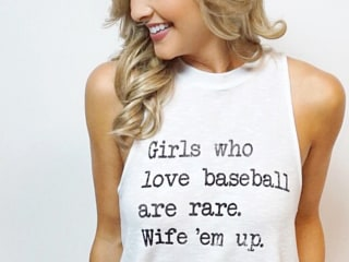 'Girls Who Love Baseball Are Rare' Shirt Sparks Backlash