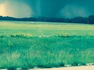 Mammoth Tornado Appears to Spare Small Kansas Town of Chapman