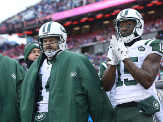 Brandon Marshall Appears to be Protesting Jets QB Situation