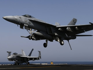Two Navy Super Hornet Jets Collide Off North Carolina Coast