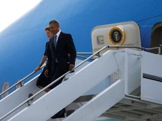Obama Arrives in Hiroshima for Historic Visit