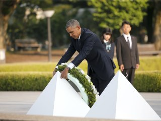 Obama Becomes 1st U.S. President to Visit Hiroshima