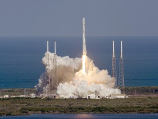 SpaceX Lands Another Rocket After Satellite Delivery