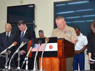 U.S. Forces in Okinawa Hold Month of Mourning for Murdered Japanese Woman