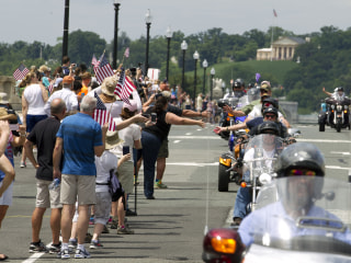 Rolling Thunder Motorcycle Ride Rumbles Through DC