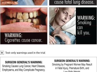 Pictures Better Than Words For Scaring Smokers off Cigarettes