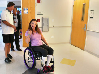 Hotel Apologizes to Amy Van Dyken-Rouen After Employee Calls Her 'Cripple'