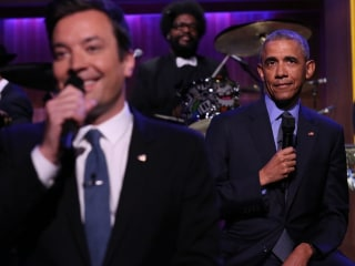 Obama Tells Jimmy Fallon He's 'Worried About the Republican Party'