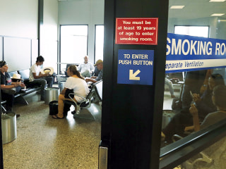 Salt Lake City Snuffing Out Its Post-Security Smoking Rooms