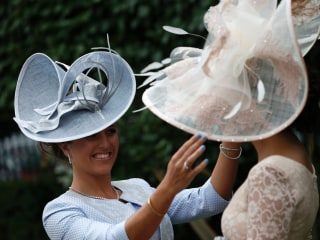 Hats and Horses: Ladies Flaunt Fashion at Royal Ascot