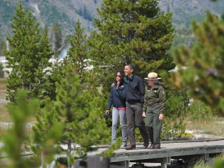 First Family's National Parks Vacation Highlights Obama's Environmental Push