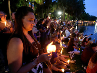 Estimated 50,000 People Attend Vigil for Orlando Victims