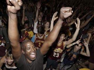 After Cavaliers' Big Win, Cleveland Celebrates 1st Title in 52 Years