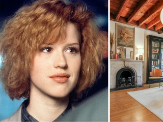 For sale! Take a tour of Molly Ringwald's cozy NYC apartment