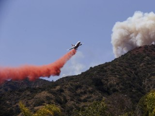 Simmering Heat Fuels the Flames for Pair of California Wildfires