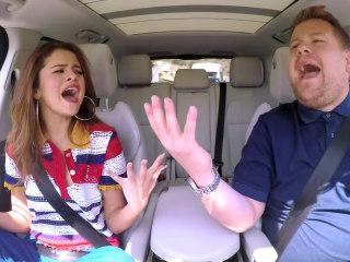 Roller Coaster Karaoke! Selena Gomez Pulls Out of Carpool Lane With James Corden