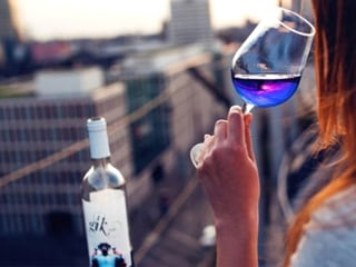 Blue Wine May Become Your New Summer Drink