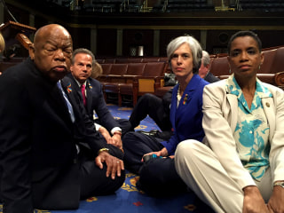 What Are the House's Rules for a Sit-In?