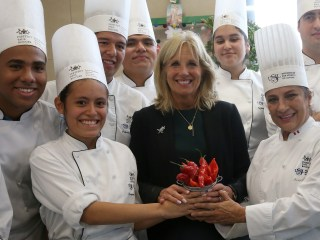 Dr. Jill Biden Documents Latin American Tour of Colleges, Universities