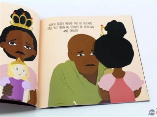 7-Year-Old Publishes Book Inspiring Girls of Color to Be Princesses