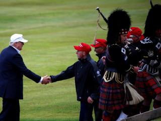 First Read: Trump Takes a Surreal Victory Lap in Scotland