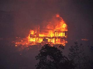 Two Dead in California Erskine Wildfire Near Sierra Nevada Mountains